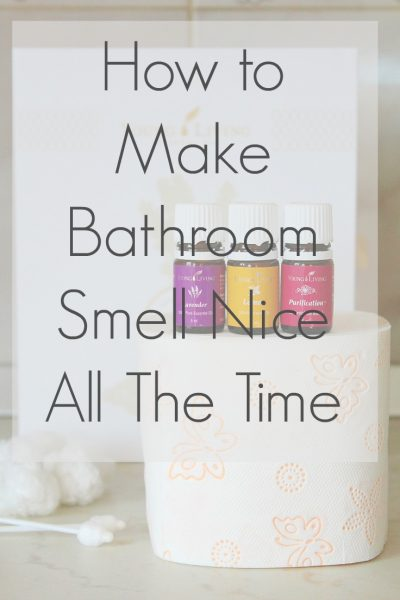 How to make your bathroom smell nice all the time