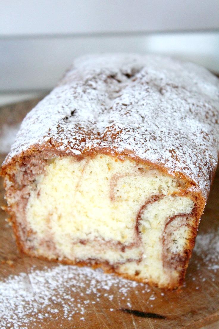 Cocoa Swirl Cake Recipe