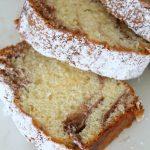 Cocoa swirl sponge cake recipe