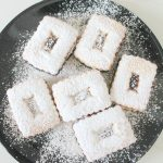Strawberry Linzer cookies recipe