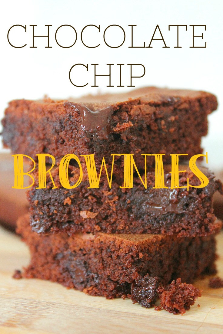 This Simple Chocolate Chip Brownies recipe is so yummy and perfect for any birthday or party or simply to satisfy a sweet tooth.