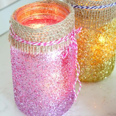 Jar luminaries Christmas Decorations