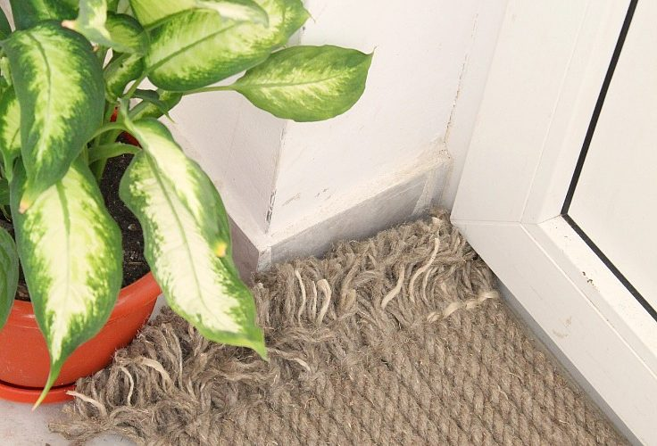 How to make a stunning outdoor rug with rope