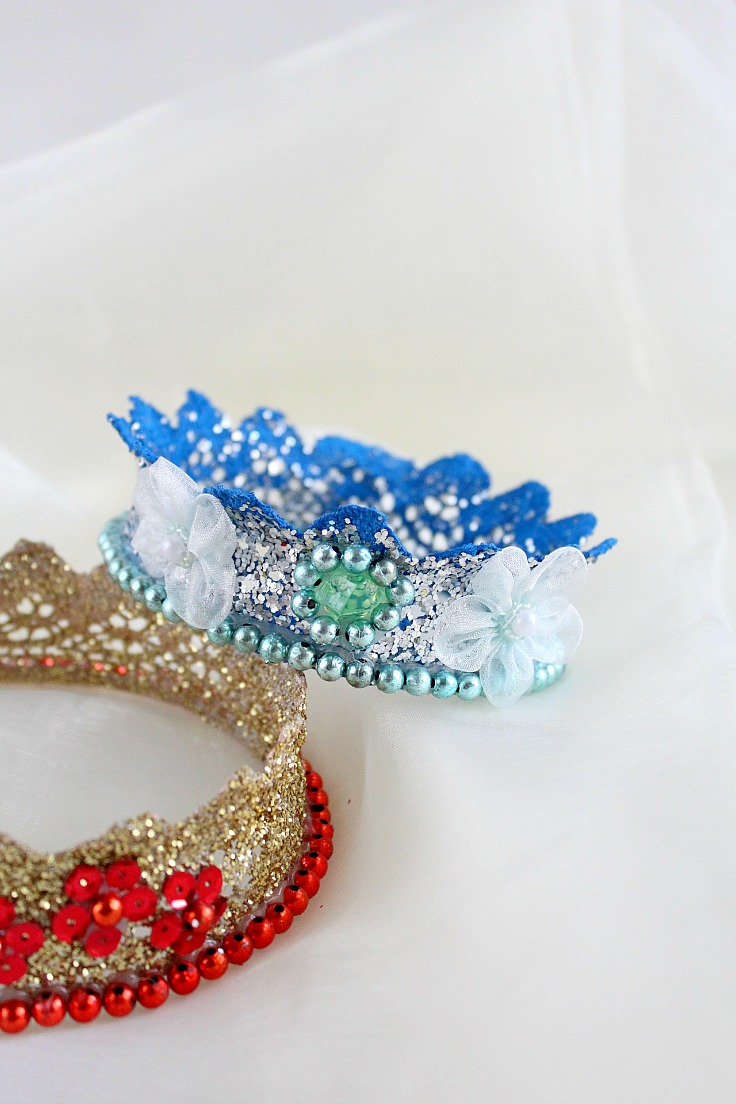 diy crown headband
