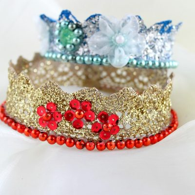 Stunning Lace Crown For Birthdays Or Dress-ups