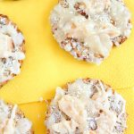 (Almost ) 2 Ingredients banana coconut cookies