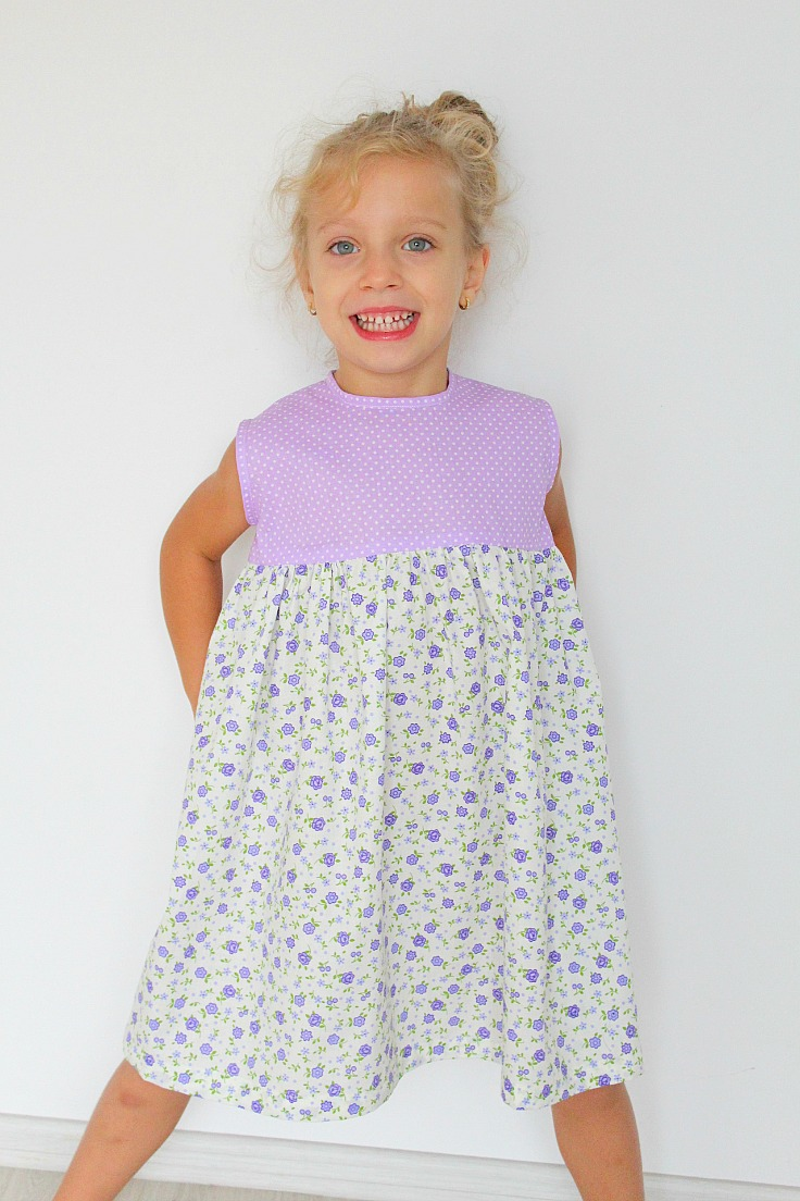 Gathered dress pattern