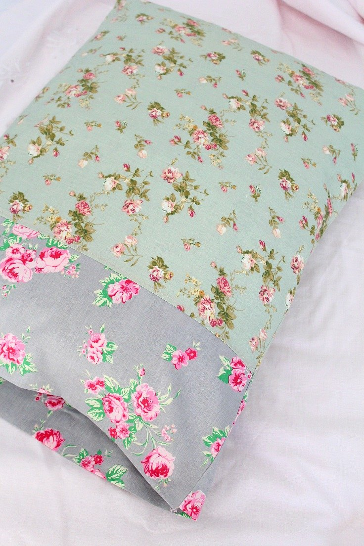 How to make a simple pillowcase