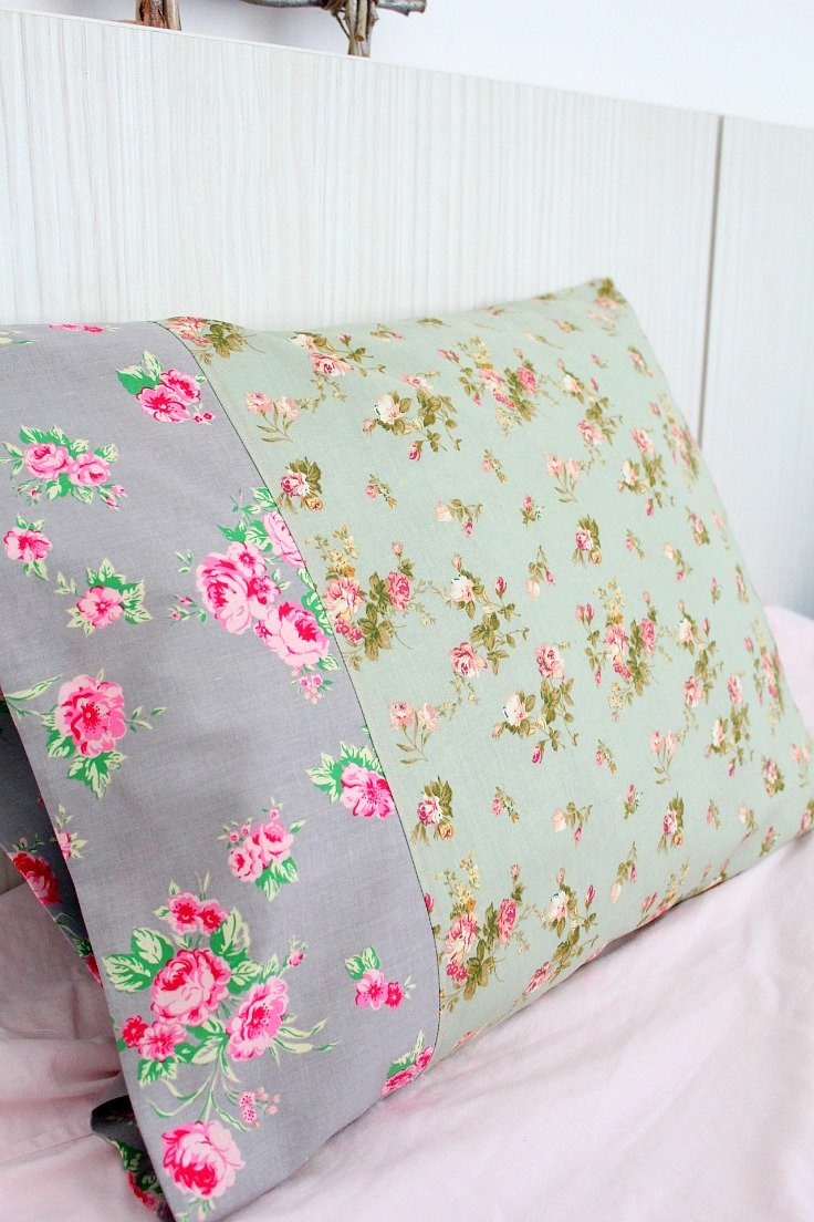 How to sew a pillowcase for beginners