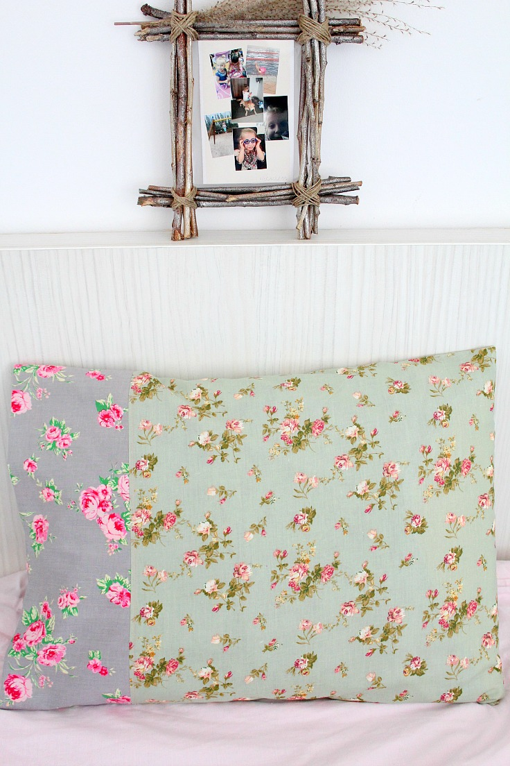 Easy Pillowcase Pattern For Beginners & Pillowcase Tutorial Easy Sew For The Absolute Beginner pillowsntoast.com