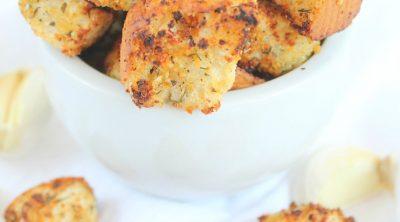 Garlic Herb Croutons