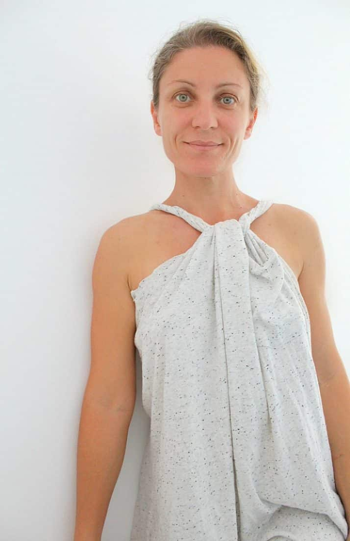 No Sew Beach Cover Up From A Man S T Shirt