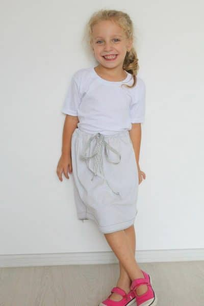 DIY No sew skirt tutorial