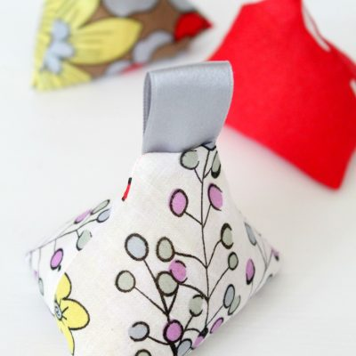 DIY Triangle Fabric Weights