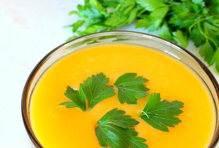 Vegetable cream soup recipe