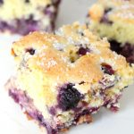 Blueberry Buttermilk Cake Recipe