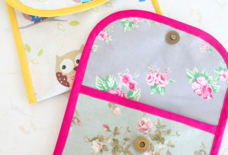 Reusable Snack Bag Sewing Tutorial for my Snackwell's biscuit thins