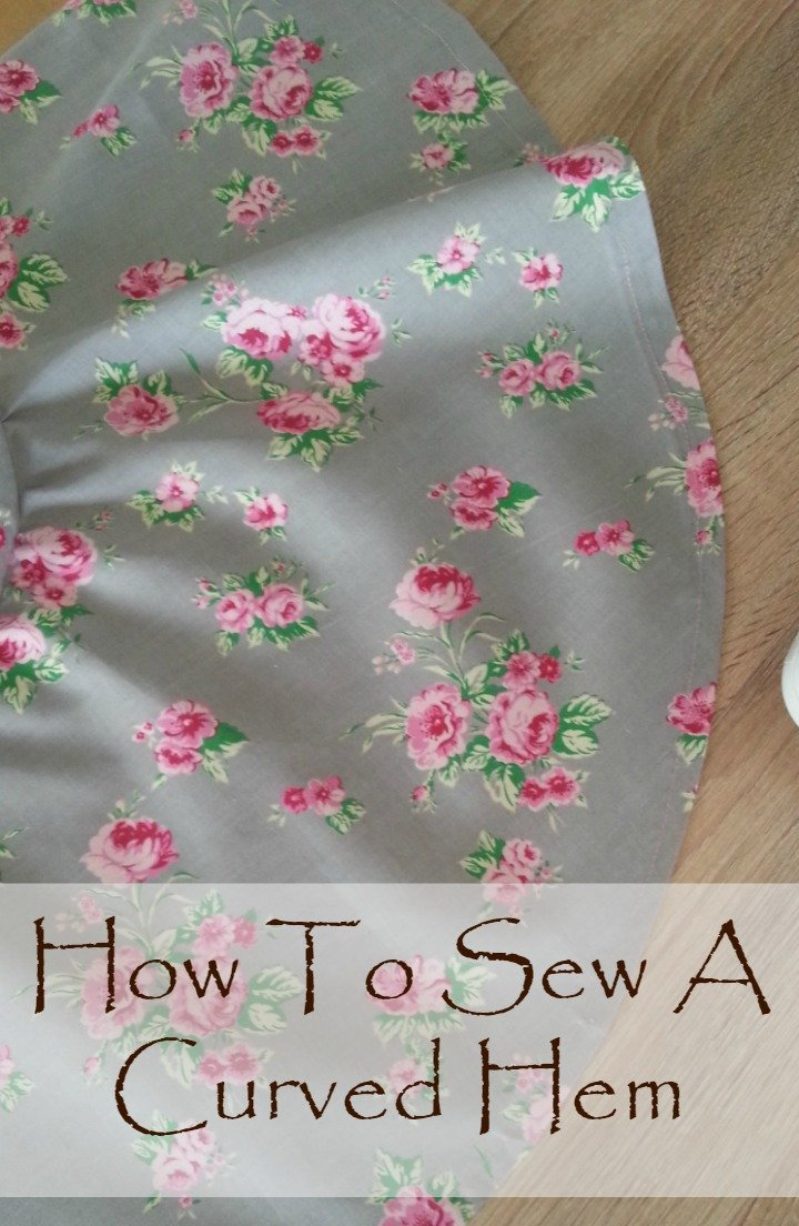 How To Hem A Curve Easy Sewing Tutorial