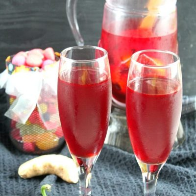 Easy & quick Dracula's BLOOD PUNCH RECIPE
