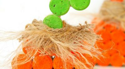 Wine Cork Pumpkin Tutorial
