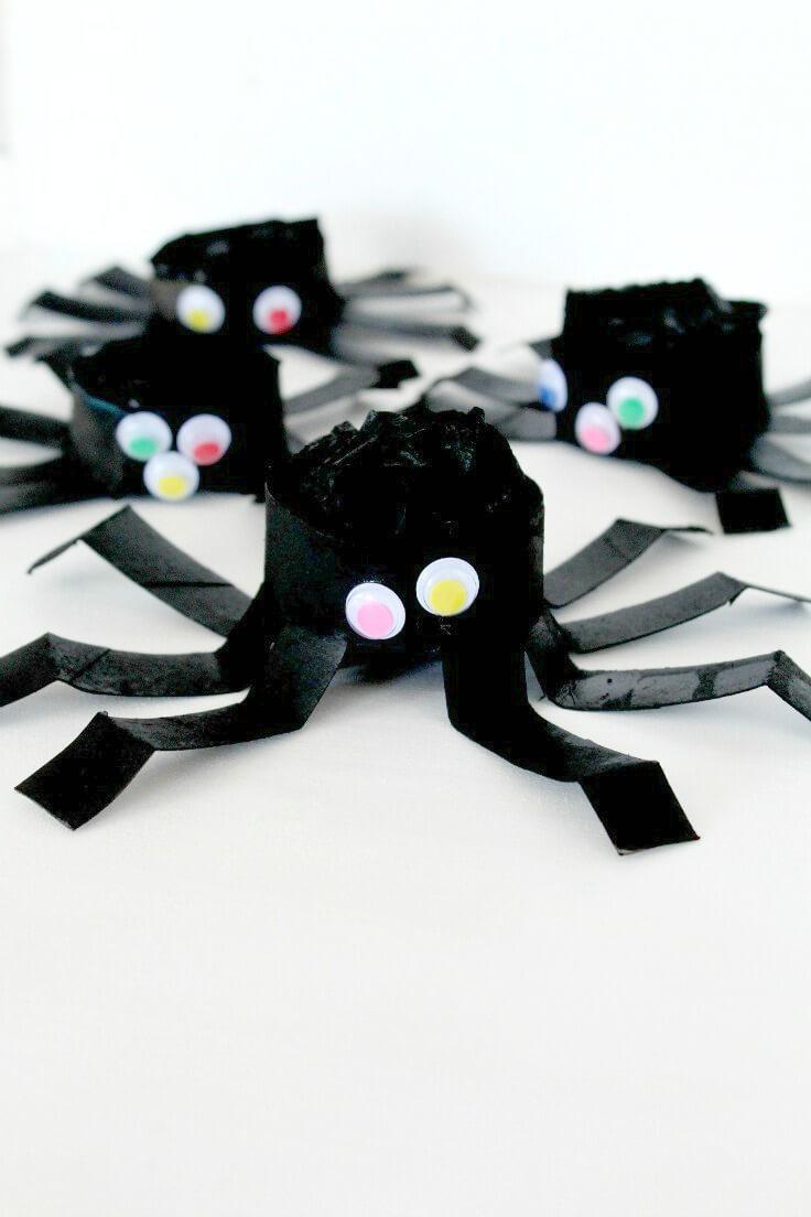 DIY Halloween Spider