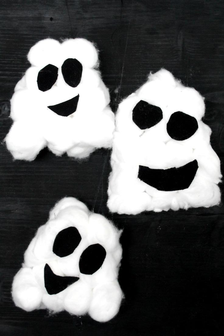 Easy Halloween Ghosts