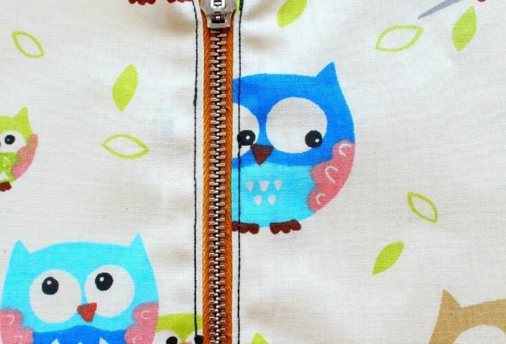 Simple and Easy Way to Sew a Zipper