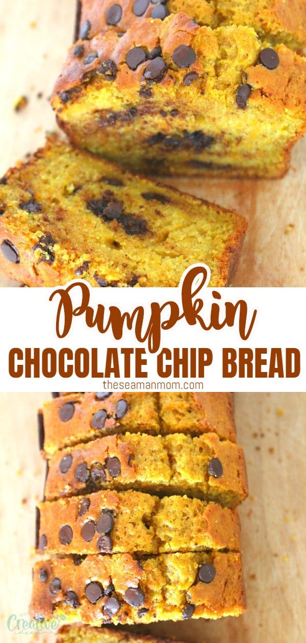 If fall means everything pumpkin for you too, then this ah-mazing Chocolate Chip Pumpkin Bread is right up your alley! And you'll most likely want to make this delicious chocolate pumpkin bread all year long!  via @petroneagu