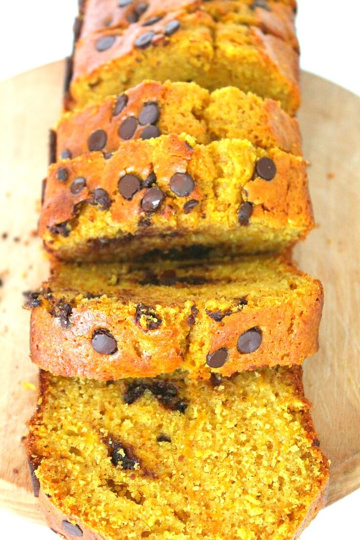 Chocolate Chip Pumpkin Bread Recipe by The Seaman Mom