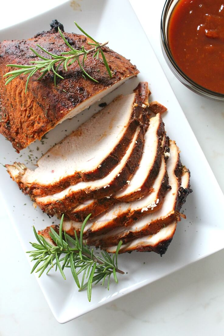 Brined Roasted Turkey Breast Recipe