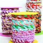 DIY fabric twine tutorial