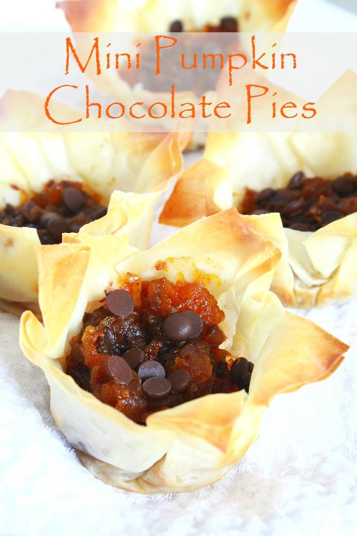 adorable mini pumpkin pies are a bite sized alternative to pumpkin pie ...