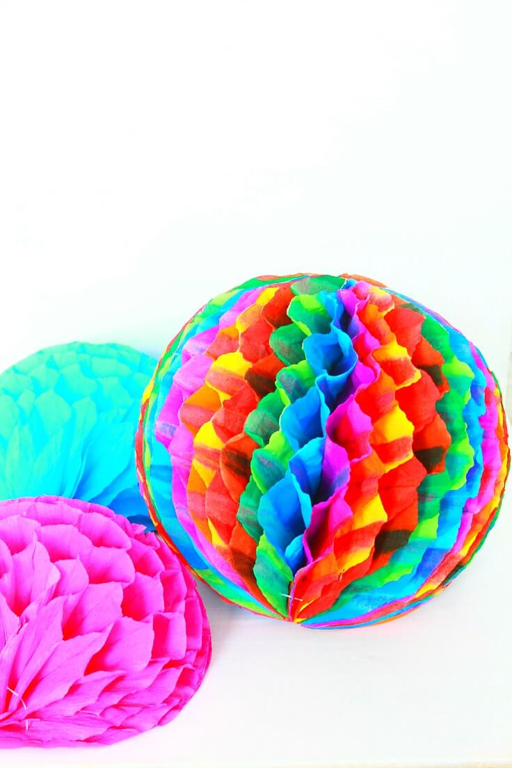how to make your own pom poms