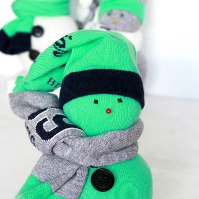 Super Adorable DIY Sock Snowman