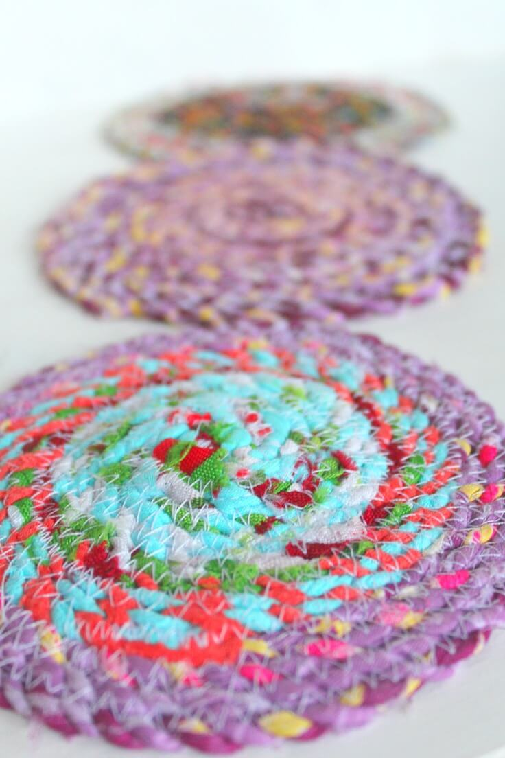 how to make fabric trivets