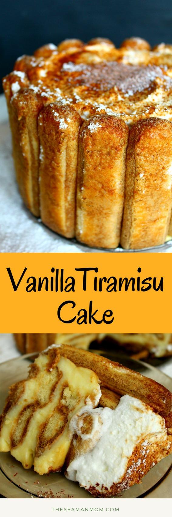 Vanilla tiramisu recipe