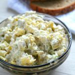 Yellow Beans Garlic Spread
