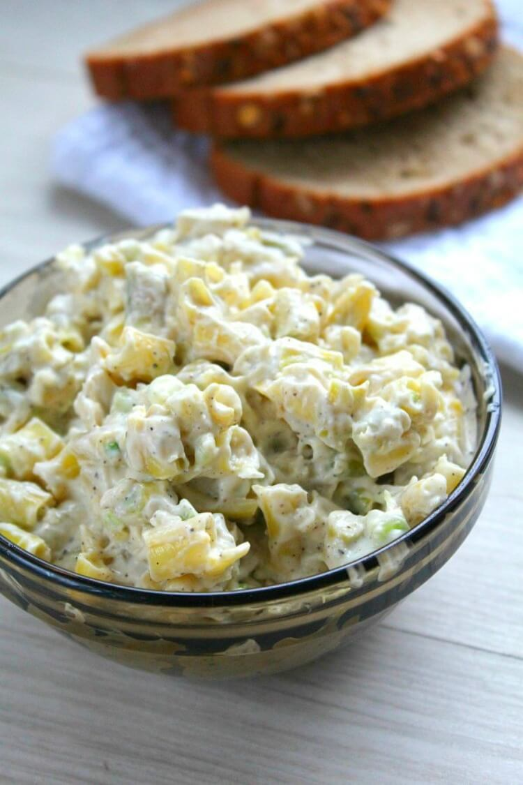 Yellow Beans Garlic Mayonnaise Spread