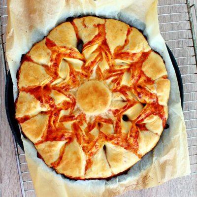 Braided Margherita Pizza Bread