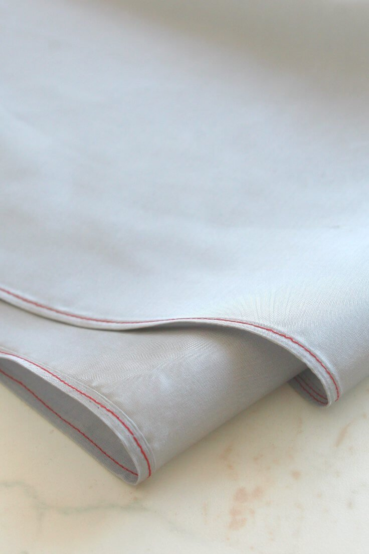 Sewing sheer fabric