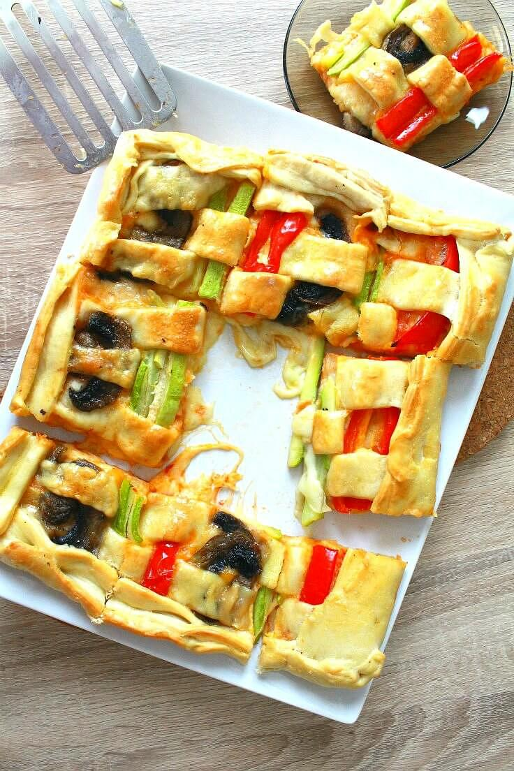 Braided Vegetable Tart