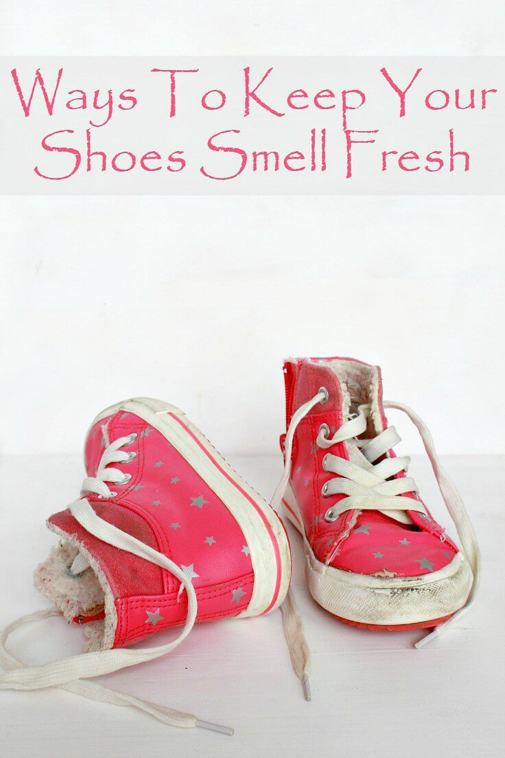 Ways To Keep Your Shoes Smell Fresh