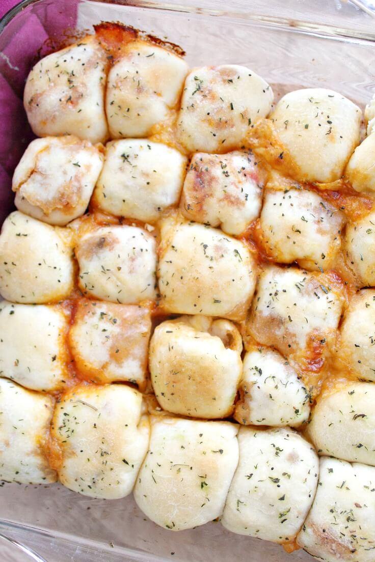 Vegetarian Stuffed Pizza Rolls Recipe