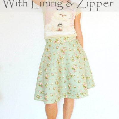 Lined Skirt: It's Not as Difficult as You Think!