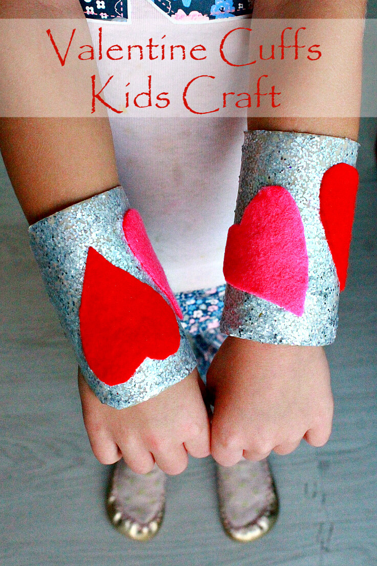 DIY Cuffs Bracelets Kids Craft