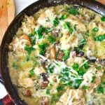 Skillet Chicken Recipe With Sour Cream and Mushrooms