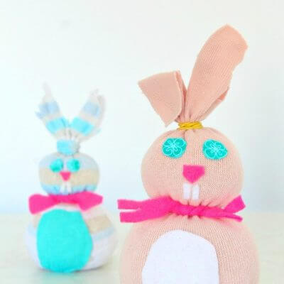 DIY Sock Bunny Tutorial