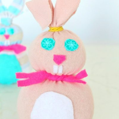 DIY Sock Bunny Craft