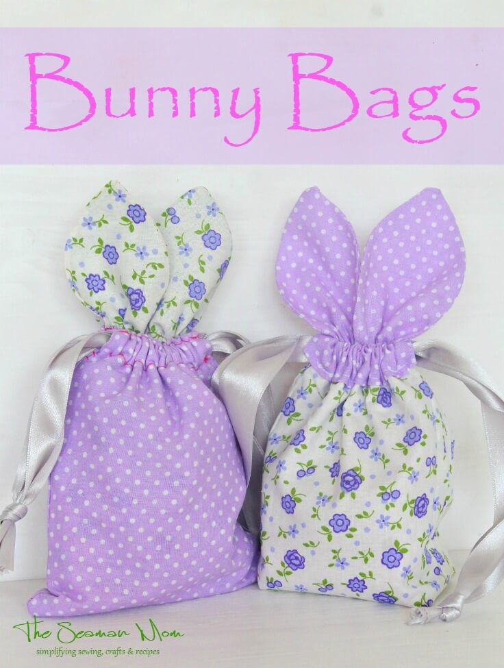 These little Easter treat bags are so irresistibly cute and perfect for hiding Easter treats!