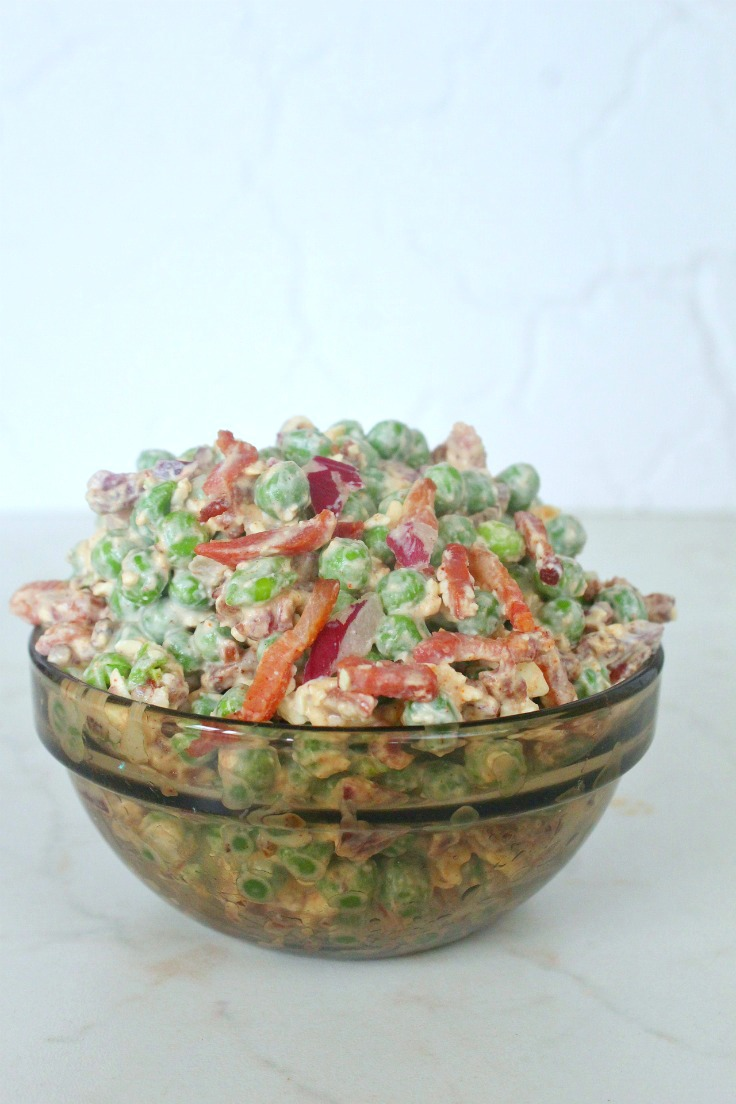 Peas Bacon Salad
